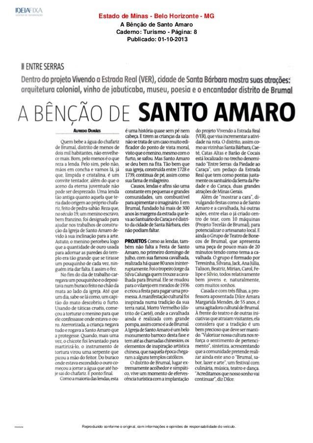 Reproduzido conforme o original, com informações e opiniões de responsabilidade do veículo.09:33:36 Estado de Minas - Belo...