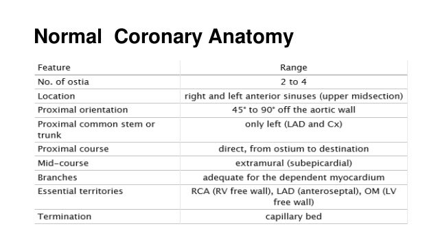 Abnormal coronary artery