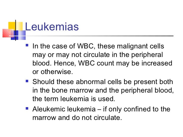 the peripheral blood a...