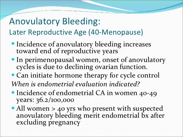 Anovulatory cycle after stopping clomid