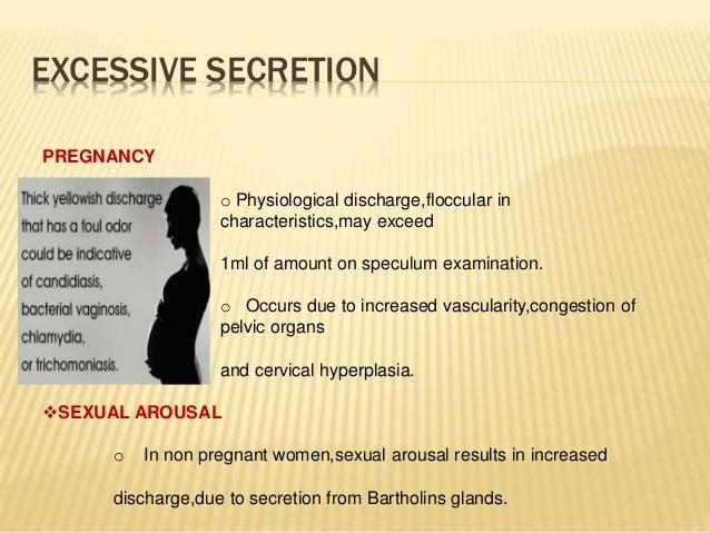 Excessive vaginal wetness during sex