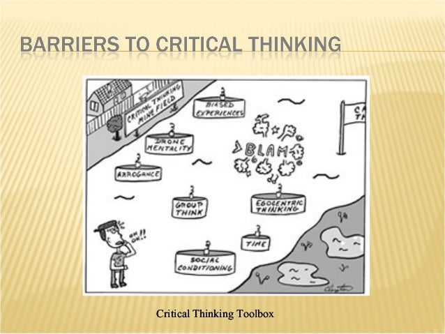 Critical thinking toolbox