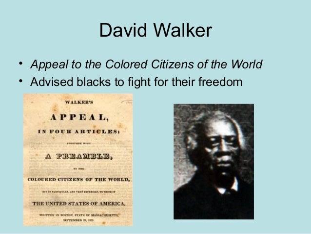 david walker appeal