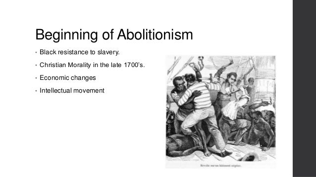 Abolitionism in black and white