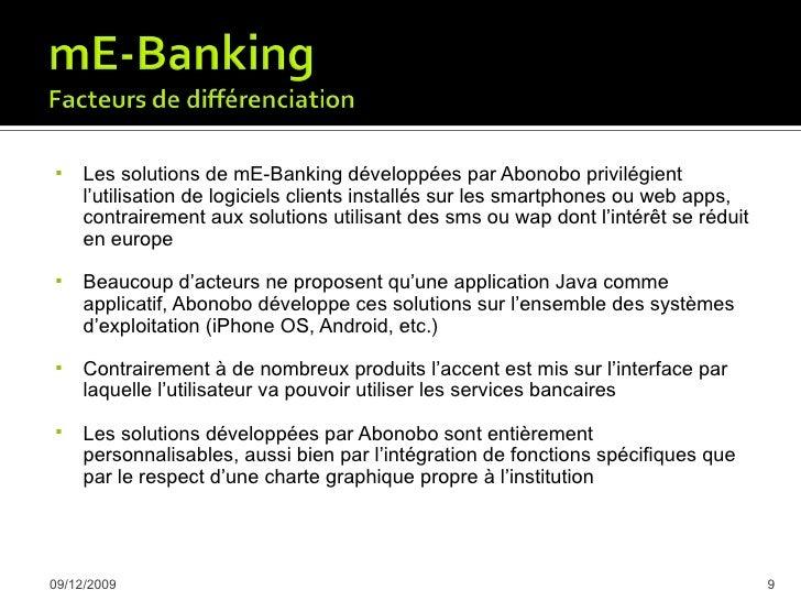     Avantage sur la concurrence      Amélioration de l'expérience utilisateur des clients, satisfaction      Nouvelle s...