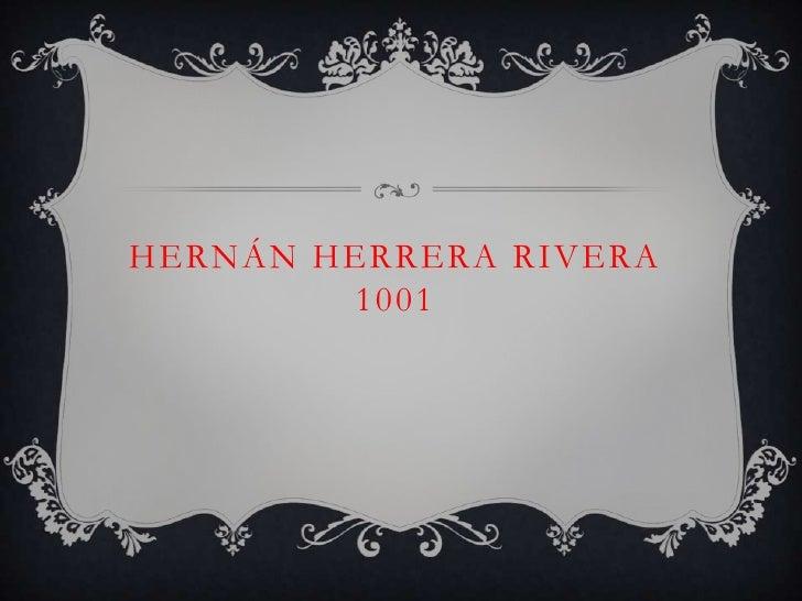 HERNÁN HERRERA RIVERA        1001