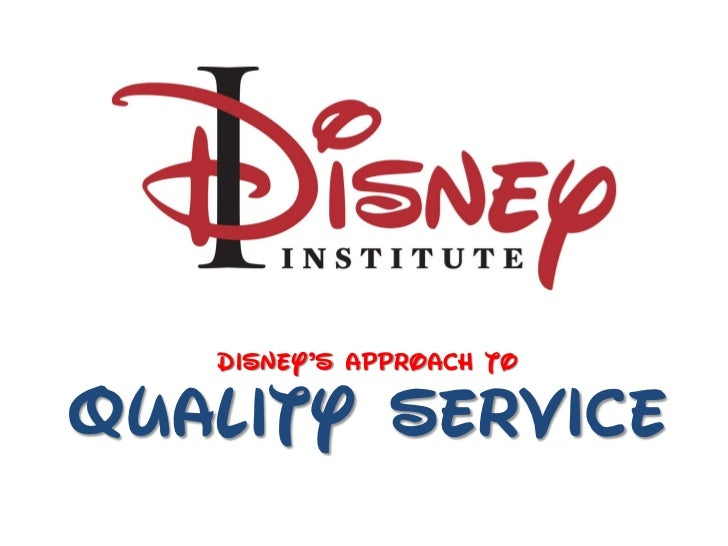 Dipney'p ApproAch qoQuality Service