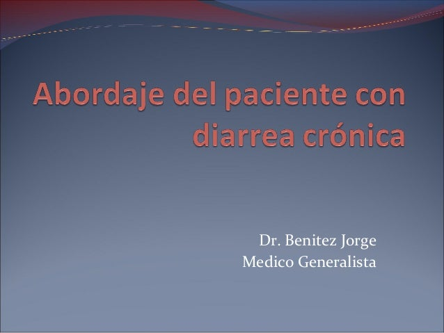 Dr. Benitez JorgeMedico Generalista