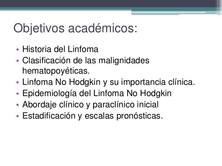 Abordaje del paciente con linfoma Slide 2