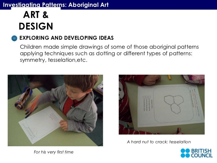 Aboriginal art presentation