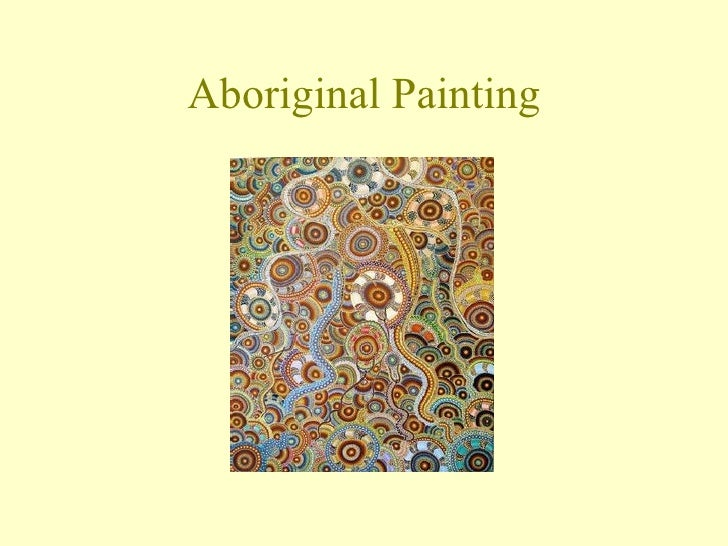 Aboriginal painting powerpoint toneelgroepblik Images