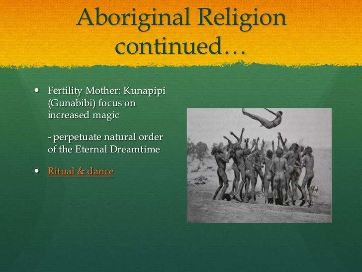 Aboriginal presentation