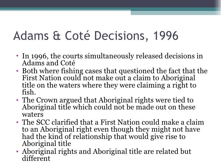 the crown fiduciary relationship with aboriginal peoples