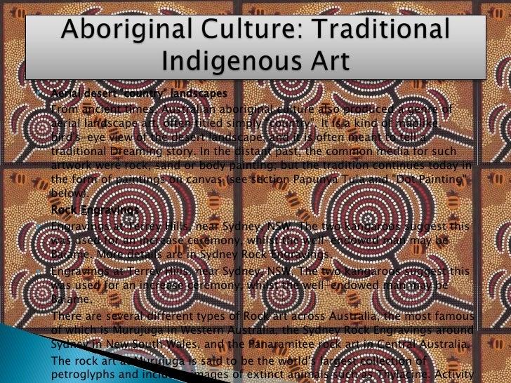 <ul><li>Aerial desert &quot;country&quot; landscapes </li></ul><ul><li>F rom ancient times, Australian aboriginal culture ...