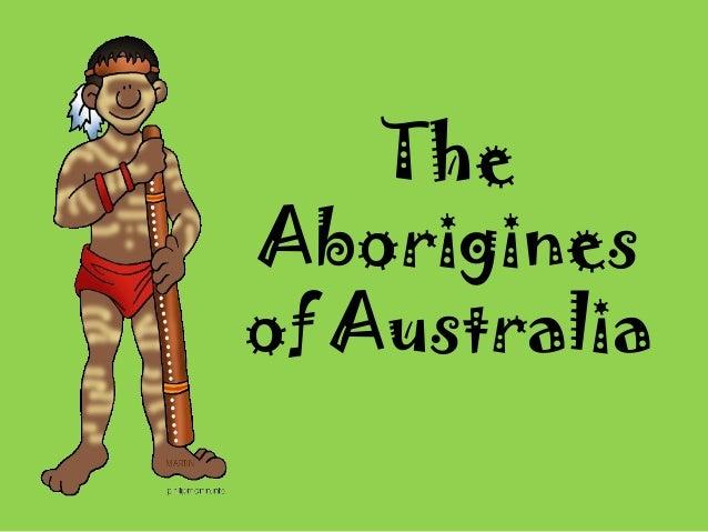 The Aborigines of Australia
