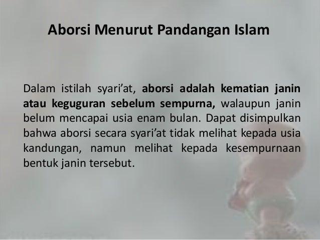 ABORSI DALAM PANDANGAN ISLAM PDF
