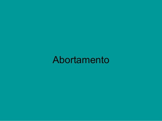 Abortamento