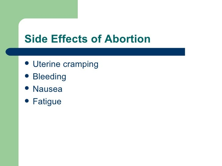 effects of abortion By the age of forty-five, one out every two and half women has had an abortion this paper covers how abortions affect these women.