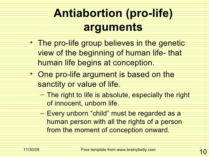 "an argument against abortion in society Pro-life speaker gives non religious argument against abortion ""i also think that we as a society are kind of moving towards a place where we feel that the."