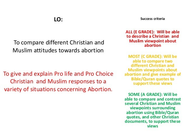 religious views on abortion essay The question of abortion is perhaps one of the most sensitive and charged topics  in the  note: this short essay is meant purely as an educational overview   judaism is a religion of responsibility and duty if pregnancy results from doing.