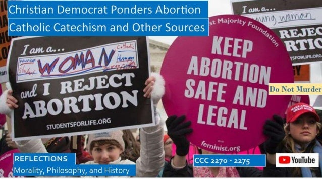 christian democrat ponders morality of abortion decisions 1 638