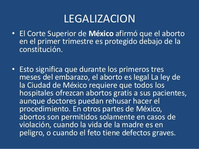 Aborto terapeutico clinicas 4 - Aborto primer mes ...