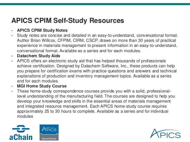 CPIM Study Guide & Practice Test [Prepare for the CPIM Test]