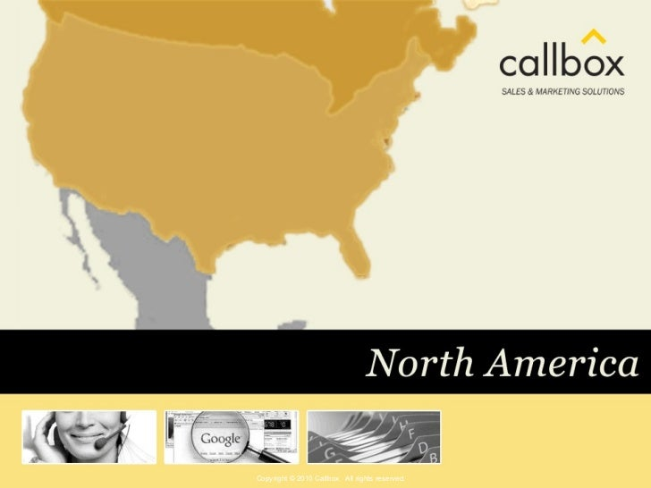 Copyright © 2010 Callbox. All rights reserved.