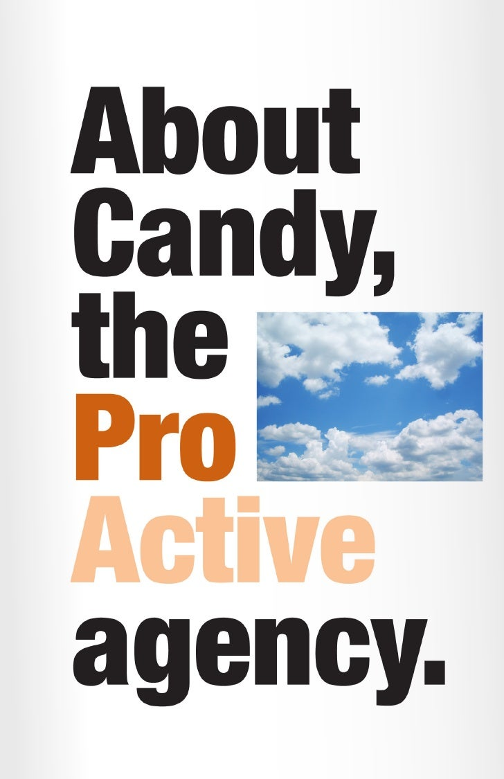 Candy is an ad agency in Athens, Georgia, founded and operated by Michael Lachowski in 1996 to meet two needs: an outlet f...