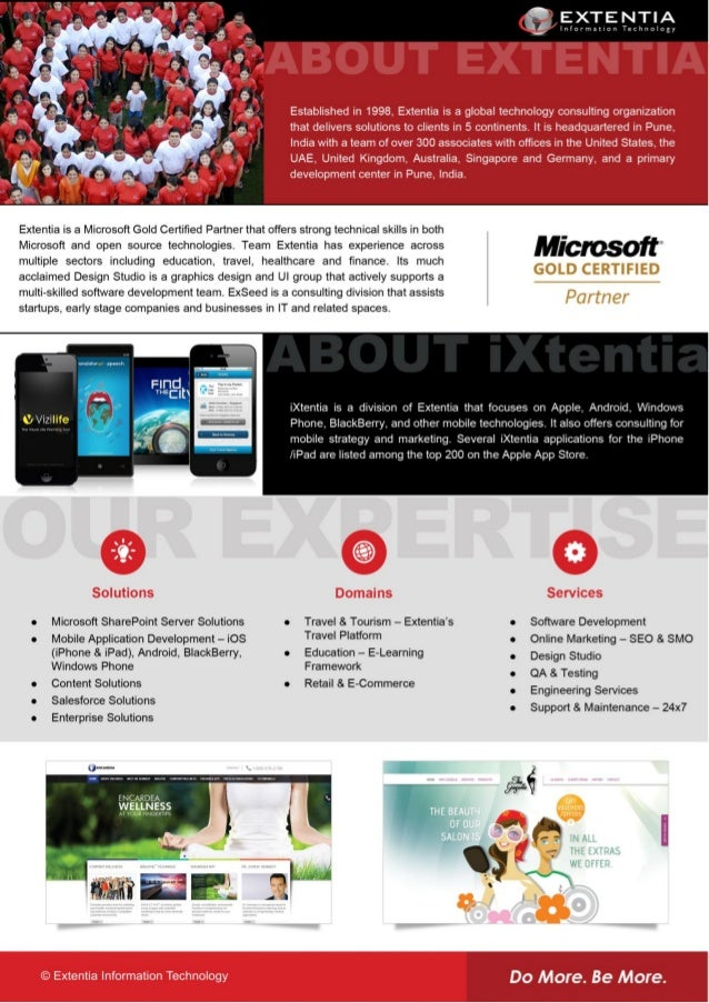 About Extentia Information Technology - Outsourced Software Development and Project Management Company