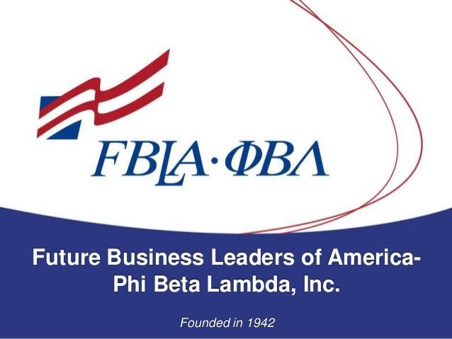 About Fbla Pbl