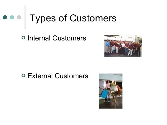 Internal and external customers in pharmacy