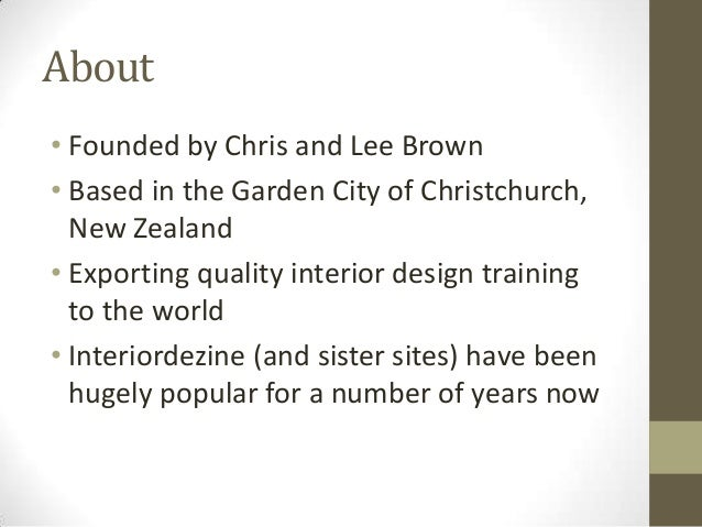 About interior dezine for Landscape design courses christchurch