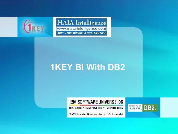 1KEY BI With DB2
