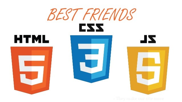 About Best friends - HTML, CSS and JS