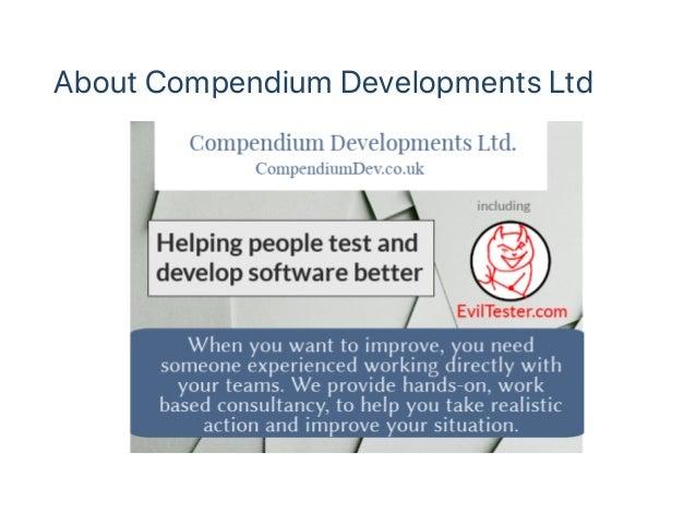 About Compendium Developments Ltd