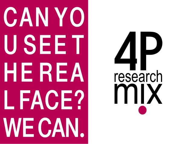 Made to measure                                                                    4P research mix helps to build a compet...