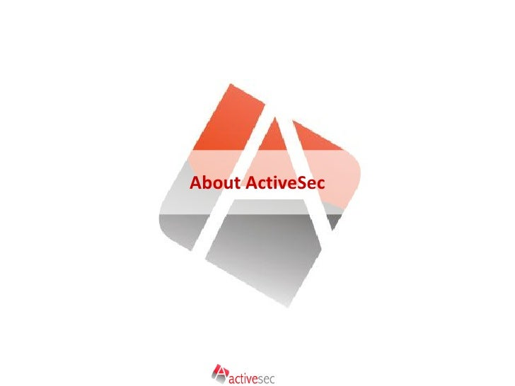 About ActiveSec