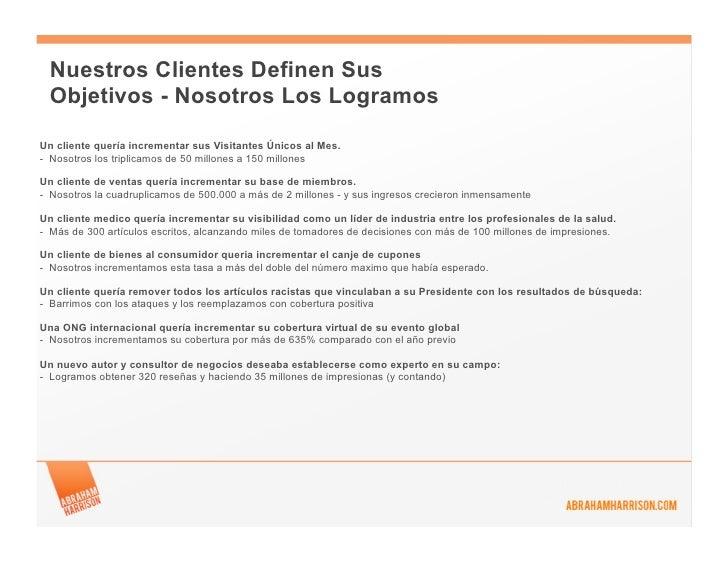 Nuestros Clientes Definen Sus Objetivos - Nosotros Los LogramosUn cliente quería incrementar sus Visitantes Únicos al Mes....