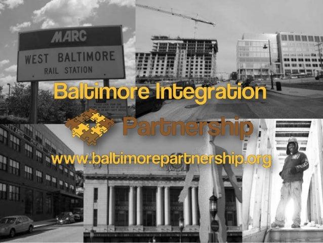 Community Profile19.528.639.534.239.535.825.121.120.221.2 10.7 4.50%10%20%30%40%50%60%70%80%90%100%Maryland Baltimore BIP ...