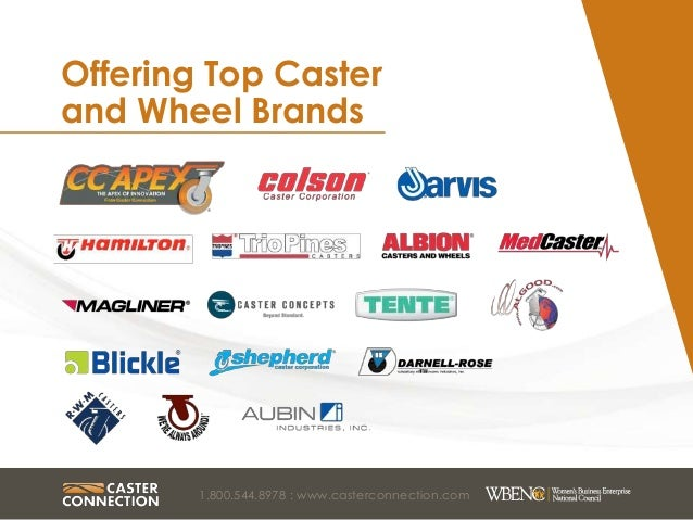 ... 5. Offering Top Caster ...  sc 1 st  SlideShare & About Caster Connection