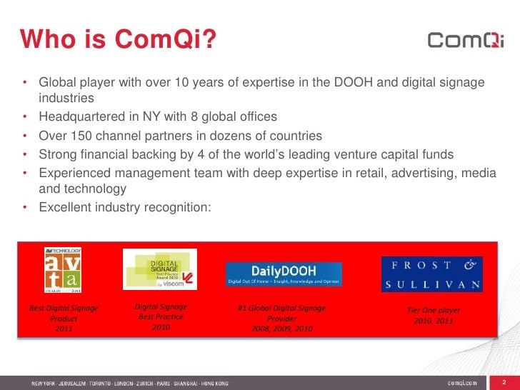 <ul><li>Global player with over 10 years of expertise in the DOOH and digital signage industries