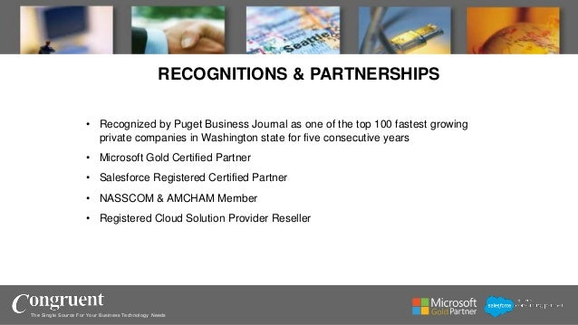 Congruent - Company Overview Slide 3