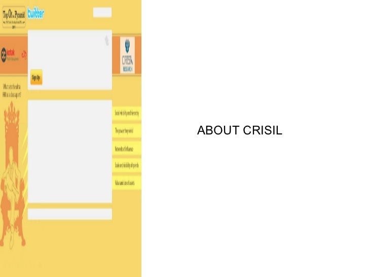 ABOUT CRISIL