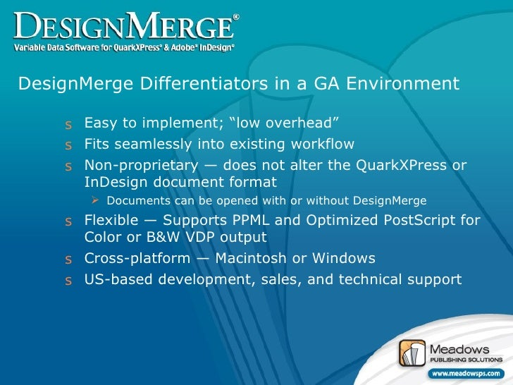 About DesignMerge