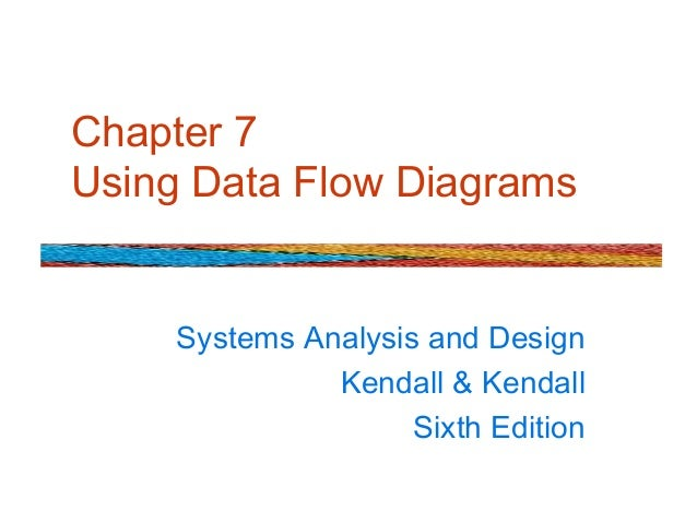 Chapter 7 Using Data Flow Diagrams Systems Analysis and Design Kendall & Kendall Sixth Edition