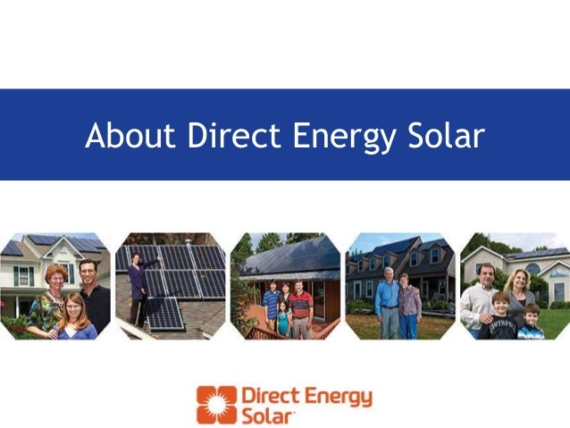 About Direct Energy Solar