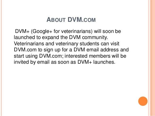 About dvm. com by ravi tolwani