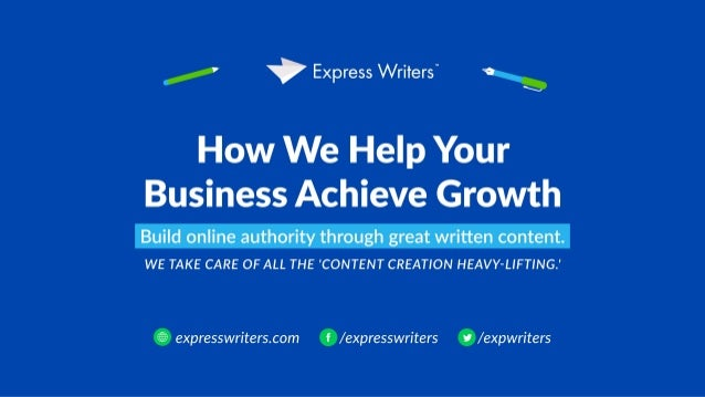Content Creation & Content Writing: How Express Writers Helps Your Brand Grow Through Content