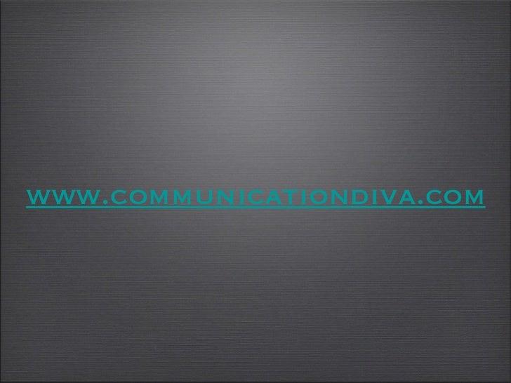 www. communicationdiva .com